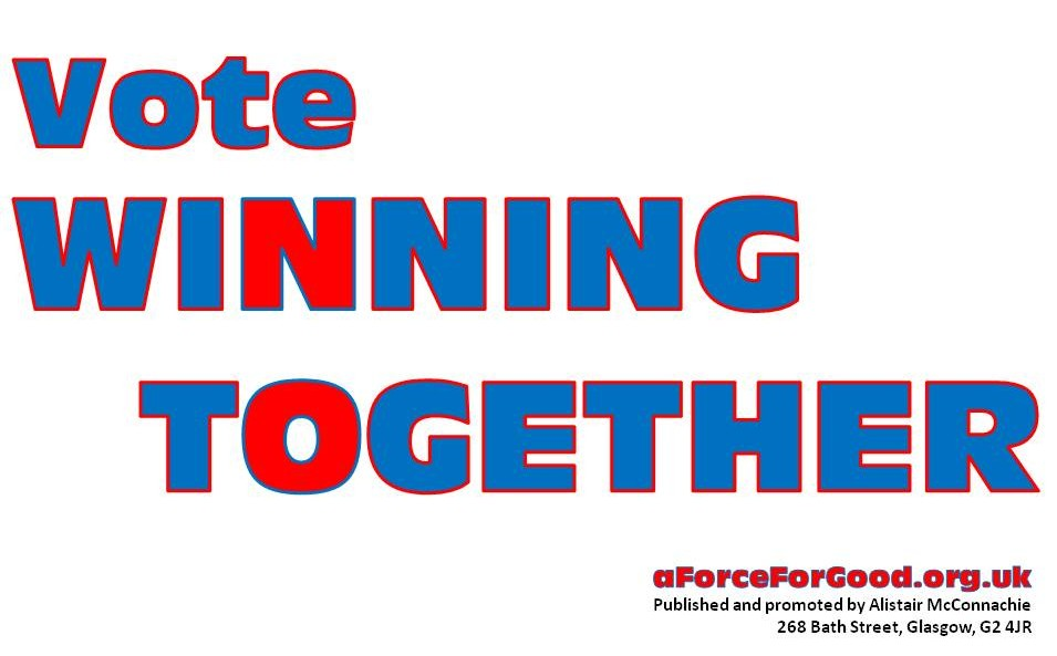 Vote Winning Together.