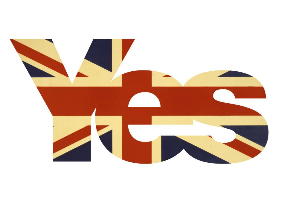 Vote Yes and Reaffirm the United Kingdom on Yes to the UK Day
