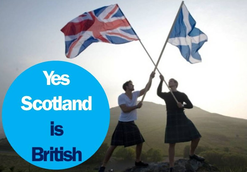 Yes Scotland is British